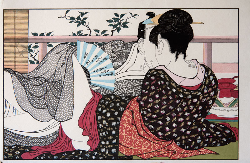 Utamaro Poem of the pillow